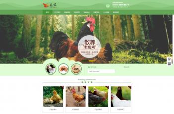 农业畜牧业网站模板